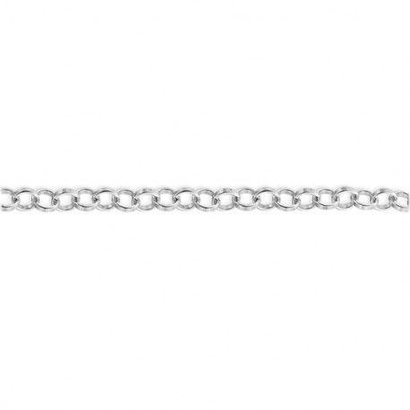Łańcuszek srebrny rolo 00 - 10 cm