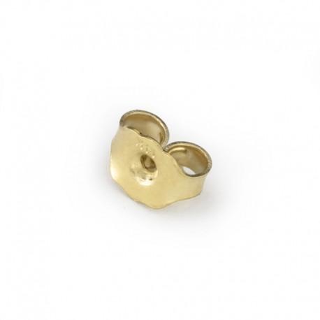 Baranki złote 14 K - 1 szt